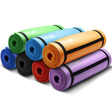 Yes4All Premium Durable Thick Yoga Mat High Density Exercise 68 72 Inch - Strap