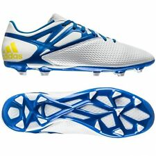 ADIDAS MESSI 15.3 FG/AG FIRM/ARTIFICIAL GROUND SOCCER SHOES Running White