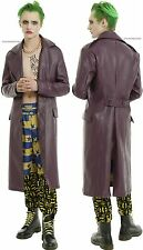 LIMITED EDITION PURPLE JOKER TRENCH COAT ~DC COMICS SUICIDE SQUAD~  FREE SHIP