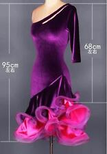 Red Latin salsa tango Rumba Chacha Samba Rumba Jive Ballroom Dance evening Dress