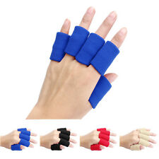 10pcs Stretch Sports Basketball Finger Guard Support Sleeves Protector LOT