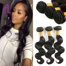 300g Brazilian Virgin Hair Bundles Human Hair weave Extensions body wave 7a