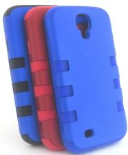 Koanan Samsung Galaxy S4 Triple Layer Hybrid High Impact Silicone Rubber Case