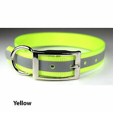 Leather Brothers SunGlo Reflective Dog Collar