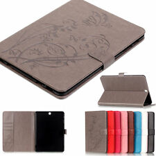 luxury Slim Card Wallet Leather Case Skin Cover for Samsung Galaxy Series Tablet