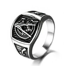 Masonic Ring Men's Domineering Freemason Lodge Stainless Steel Free Shipping !!!