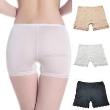 New Women Lady Girls Lace Pocket Safety Hot Pants Brief Boxer Shorts Underwear