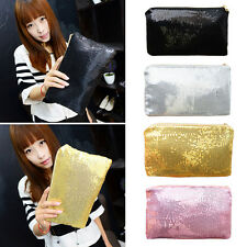Sparkling Sequins Fashion Clutch Evening Party Bag Handbag Women Tote Purse Hobo