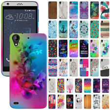 For HTC Desire 530 630 Phone Various Design Protector Hard Back Case Cover Skin