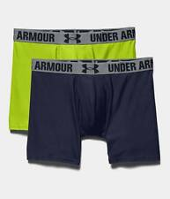 Under Armour Men's HeatGear Performance Boxerjock Boxer Briefs 2PK 1238137-411