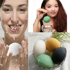 New Konjac Konnyaku Fiber Face Makeup Wash Pad Cleaning Sponge Puff Exfoliator