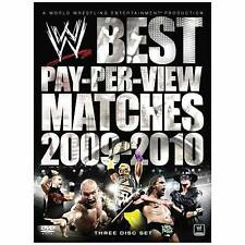 WWE: The Best PPV Matches of Year 2009-2010 (DVD, 2010, 3-Disc Set)