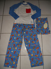 Peter Alexander Boys Space Theme Winter Pyjamas size  8 & 10    BNWT