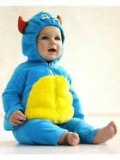 NWT-Carters Inf Boys Blue Monster Bubble Plush Halloween Costume- 3/6 & 6/9 mths
