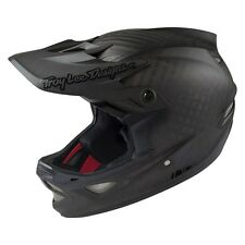 Troy Lee D3 MIPS Carbon Helmet Midnight Black - Full Face Downhill DH MTB TLD