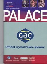 Crystal Palace Home Programmes 2007/2008