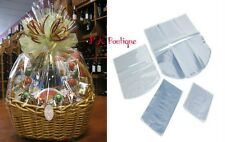 """*YOU CHOOSE QTY!* 29""""x24"""" Dome Shrink Wrap Film Gift Bags (100 Gauge) CLEAR"""
