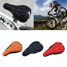 Cover Bike Saddle 3D Pad 2016 Gel Cycling Bicycle Soft Silicone Seat Cushion