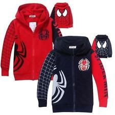 New Baby Boys Long Sleeve Tops Jacket Coat Outerwear Hoodies Kids Clothes 1-7Y