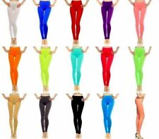 NEW Lot colorful Red Black Nude Blue Seamless Stretch Leggings Pants O/S S M L