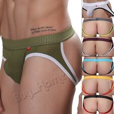 Men Trunks Briefs Underwear Breathe Boxer Pouch Shorts Thong Backless Underpants