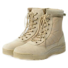 Mens Lady Outdoor Military Tactical Combat  Desert High Top Boots Hiking Camping