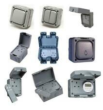 IP66 IP65 Outdoor Weatherproof Switches & Sockets RCD Timer Socket Enclosure