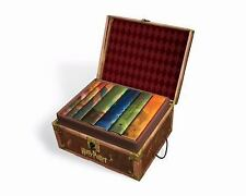 Harry Potter Box Set Books 1-7 Collectible Trunk-Like Box Sturdy Handles Lock