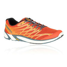 Merrell Bare Access 4 Mens Orange Trail Running Sports Shoes Trainers Pumps