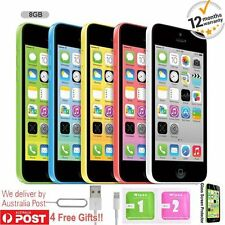 Apple iPhone 5c 8GB Factory Unlocked Mobile Smartphone - Various Colours AU