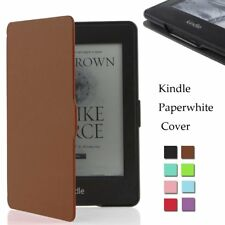 Ultra Slim Smart Magnetic Leather Stand Case Cover For Amazon Kindle Paperwhite