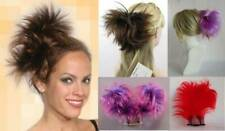 STRAIGHT SPIKY HAIR FOXTAIL HAIRPIECE W/ BENDABLE WIRE COMB ATTACHMENT WILLOW