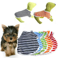 Summer Various Pet Puppy Small Dog Cat Pet Vest T Shirt Dress Apparel Clothes