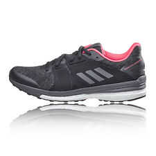 Adidas Supernova Sequence 9 Womens White Black Support Running Shoes Trainers