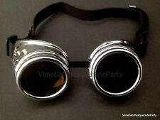 Mad Max Steampunk Goggles Glasses Welding Cyber Gothic Halloween Costume prom
