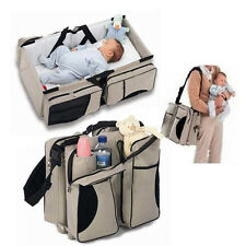 3 in 1 Diaper Bag Travel Bassinet Change Station Baby Tote Bag Bed Muli-Purpose