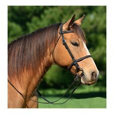 LARGE PONY  Size  PICNIC/HALTER BRIDLE & REINS made from LEATHER