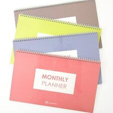 Simple Monthly Planner Organizer 15 Monthly Schedulers Undated for Any Year