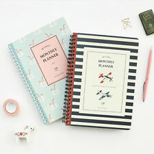 Monthly Planner Organizer 24 Monthly Schedulers Undated for Any Year