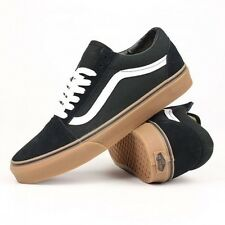 Vans Shoes Old Skool Black Gum USA Size Classic Skateboard Sneakers FREE POST
