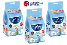 Tetley Tea Decaf 440's Teabags Re-sealable Bags One Cup