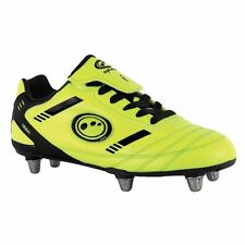 Kids Tribal Rugby Boots - Yellow