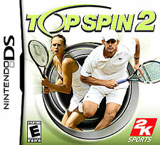 NEW NINTENDO DS TOP SPIN 2 SEALED! Tennis 3DS XL