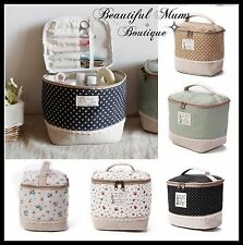 Toiletries Bag Makeup Sewing Kit Portable Cosmetic Travel Toiletry Pretty Lace