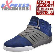 Supra Skytop III Mens Superior Suede Leather Trainers Estate Blue UK 8