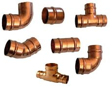 Copper Soldering 15mm Stop End, Elbows, Tee, Street Elbow Straight Coupling Gas