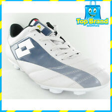 LOTTO MENS SOCCER BOOTS NRL FOOTY FOOTBALL WHITE/BLUE CHEAP BOOTS SPORTS BRAND