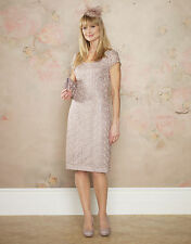Monsoon RRP £109 LUCCA lace Evening Wiggle Wedding Day Out Party Cruise Dress
