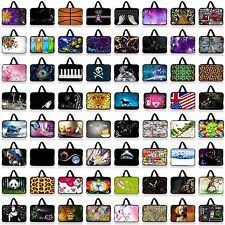 "Many 10"" 10.1"" 10.2"" Neoprene Laptop NetBook Sleeve Bag Case Cover Pouch Handle"