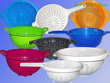 large Kitchen Sieve or Strainer Ø24-32cm, Salad Pasta Strainer Drainer Foldable